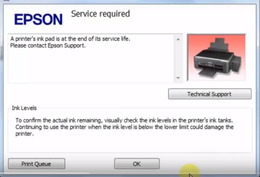 Epson-L380-error-latter