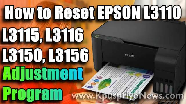 Epson L3110 Resetter - Featured Image