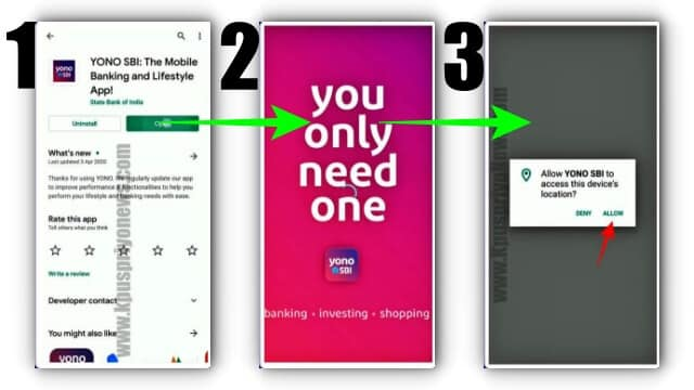 how to open sbi account online - Step Number one
