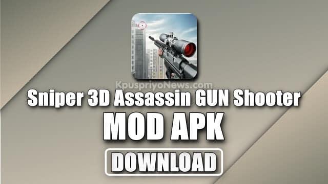 Sniper 3D mod apk - Sniper 3D Assassin Gun Shooter