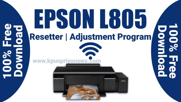Epson-L805-Resetter